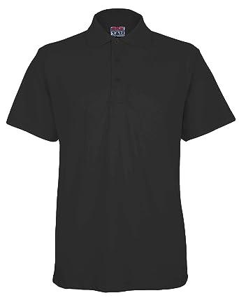 351f9c961c BKS Mens Lightweigh Pique Polo T Shirt
