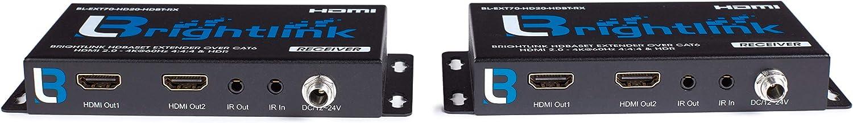 YUV 4:4:4 8x8//8x16//8x24 HDMI 2.0 // HDBaseT Matrix with Resolutions Upto 4Kx2K@60Hz Comes 8 HDBaseT Receivers 2ea HDMI outputs/&POC//POE HDR 18Gbps HDCP 1.4//2.2 /& Distance Upto 70m//228ft Away