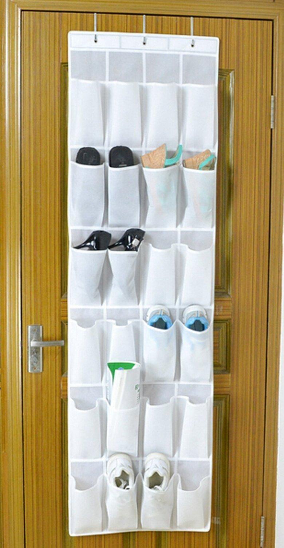 bekith 24pocket overthedoor organizer shoe storage bag shoe