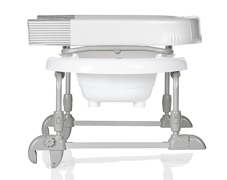 brevi 594 bagnotime baignoire et table langer bianco ebay. Black Bedroom Furniture Sets. Home Design Ideas