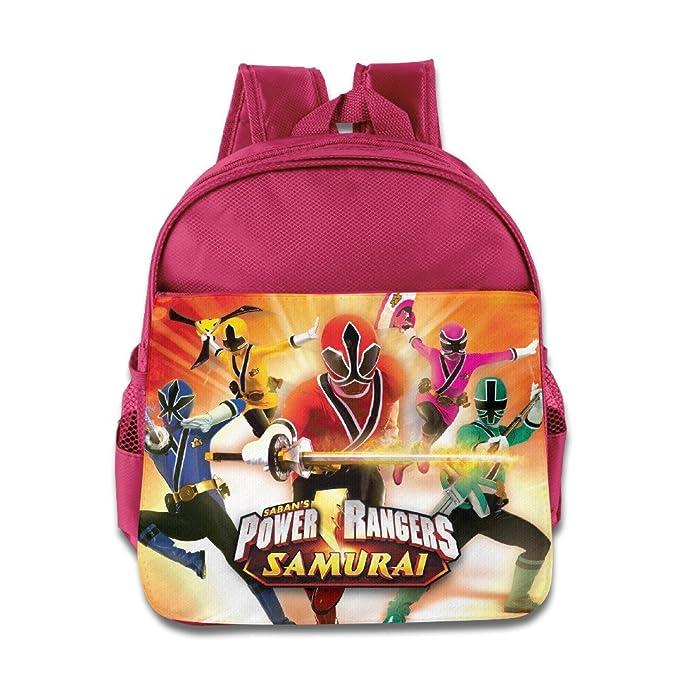 Amazon.com | Power Rangers Ninja Storm Kids School Bag Pink ...