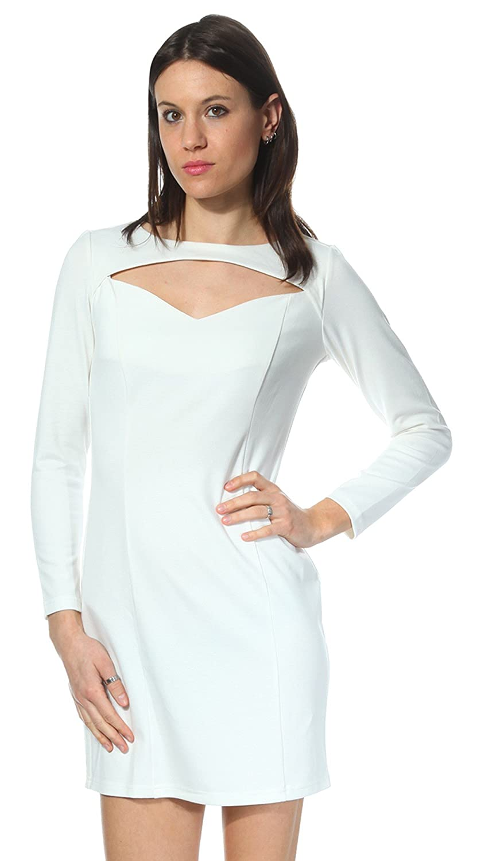 FIGL Women Dress cream M097ECM-ECRU