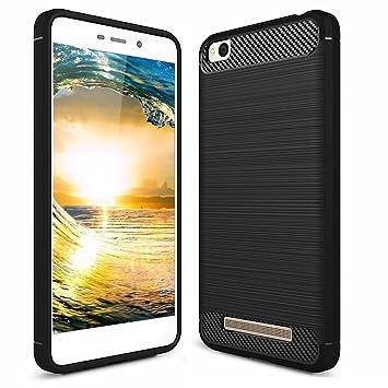 POOPHUNS Funda Xiaomi Redmi 4A, Carcasa Xiaomi Redmi 4A,TPU Silicona Carcasas Fundas Case Cover Caso Protectora,Ultra Slim,Anti-Rasguño Diseño de ...