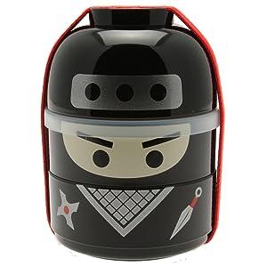 Kotobuki Ninja Boy Bento Box Set, Black