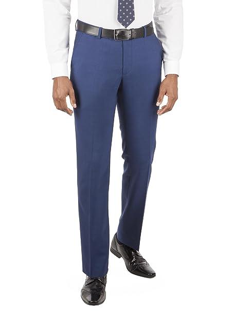 Ben Sherman Bright Blue Tailored Fit Suit Trousers , Men\u0027s Blue Suit  Trousers Classic Trousers for Men