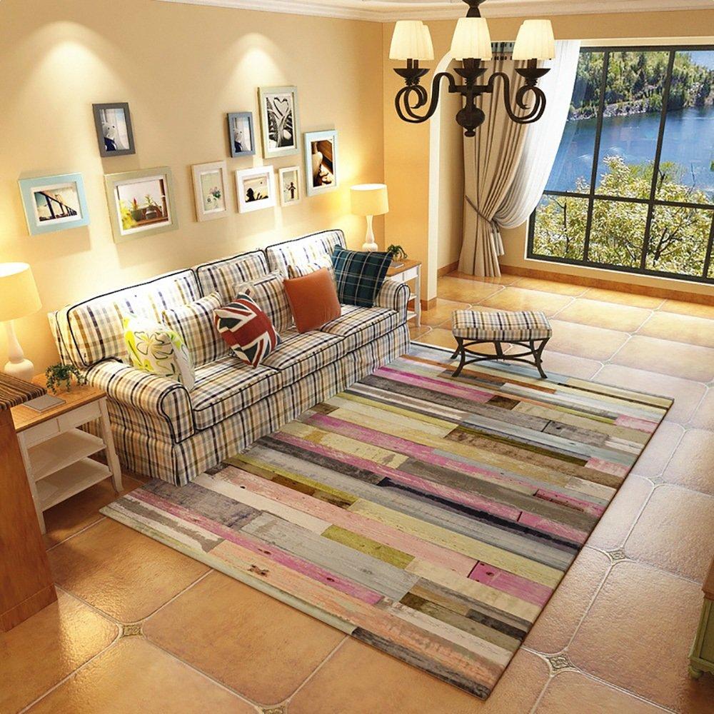 カーペット敷物ノルディックスタイルのモダンなミニマリスト家庭用ソファベッドベッドノンスリップバーのデザインパターン (Size : 120 * 160cm, Style : BO-3)   B07BLLR6F2