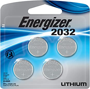 4-Pk Energizer 2032BP-4 3V Lithium Coin Battery
