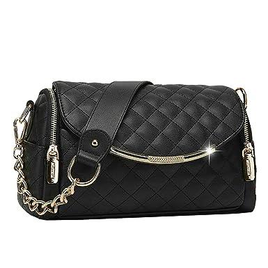 Frau Messenger Tasche Handtasche Schultertasche,1-OneSize Laidaye