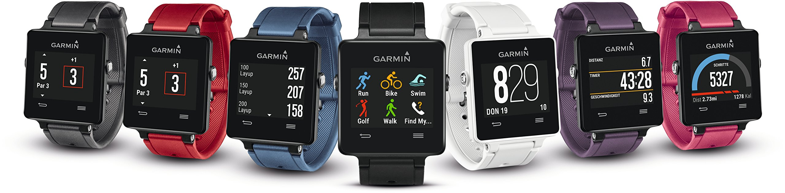 Garmin vívoactive Black bundle (Includes Heart Rate Monitor) by Garmin