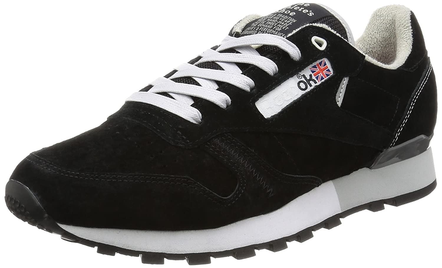 Tênis Reebok Garbstore Classic Leather Black Lifestyle (40