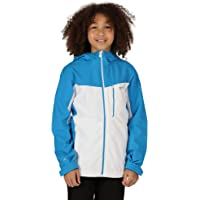 Regatta Junior Highton - Chaqueta Impermeable Y Transpirable Con Capucha Jackets Waterproof Shell Unisex niños