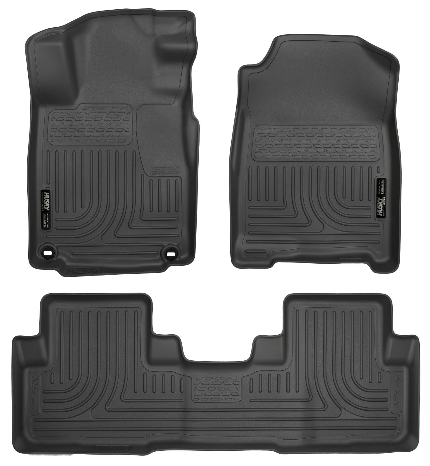 Amazon.com: Husky Liners Front U0026 2nd Seat Floor Liners (Footwell Coverage)  Fits 12 15 CR V: Automotive