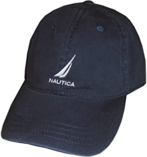 Nautica Men Adjustable Logo Hat Cap