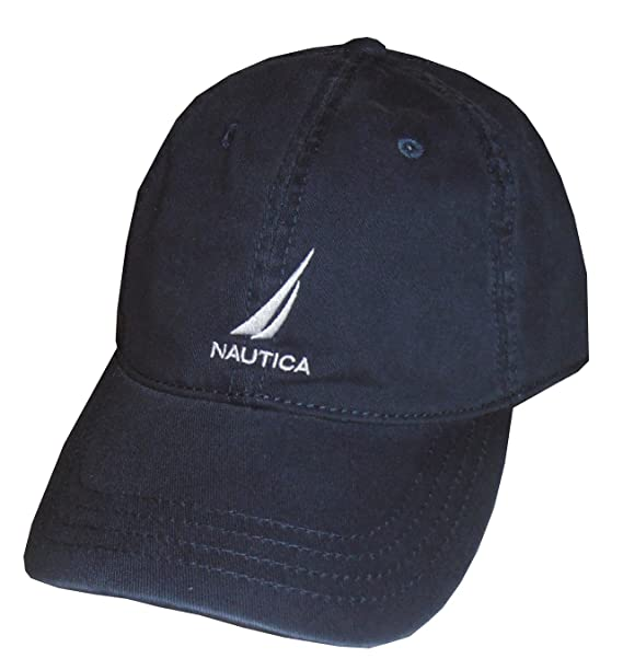 Nautica Men Adjustable Logo Hat Cap (One size 9039e9c771ef
