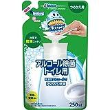 スクラビングバブル 除菌剤 プッシュタイプ アルコール除菌 トイレ用 詰替用 250ml