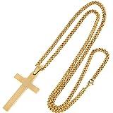 【正規品】クロスネックレス メンズ ファッション 十字架 ペンダント