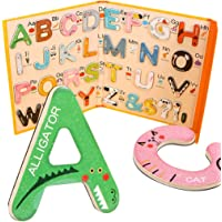 yeesport Magnetic Letters Game Interesting Creative Alphabet Teaching Tool for Toddlers Abc Alphabet Magnet for Kids…