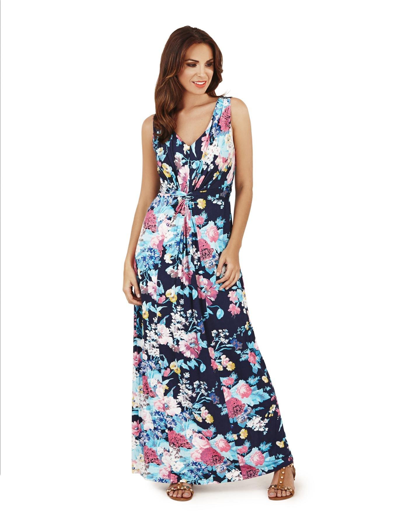 Pistachio, Mujer Maxi Estampado Vestido De Flores