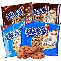 趣多多 曲奇饼干三连包 262g*3(原味 咖啡味随机发)