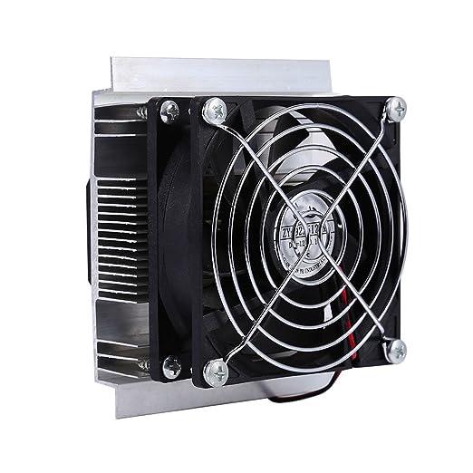 GOZAR 12V Bricolaje Refrigeración Semiconductora Nevera ...