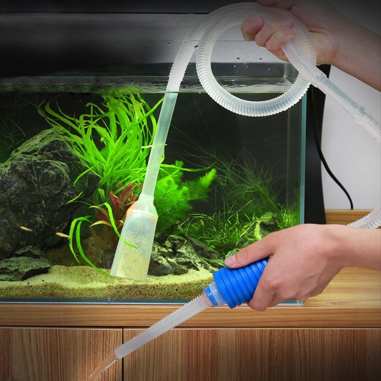 Firststore Aquarium Gravel Cleaner Vakuum Pumpe Für Aquarium, Das Wasser  Wechseln Sand Von: Amazon.de: Haustier