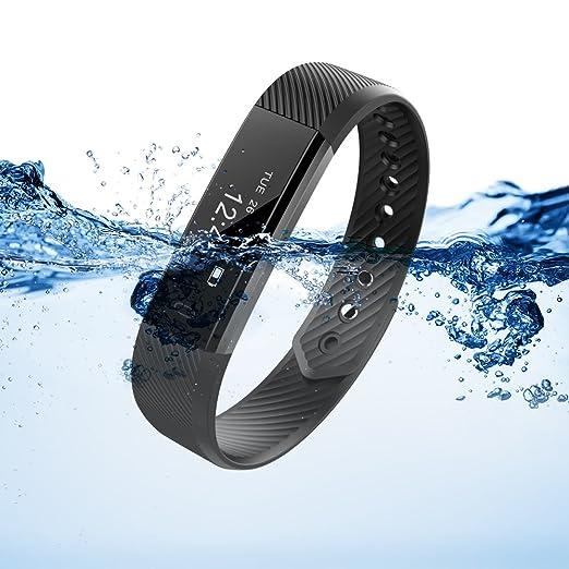 8 opinioni per Fitness Tracker, XCSOURCE® Braccialetto Bluetooth Sport Activity Tracker, IP67