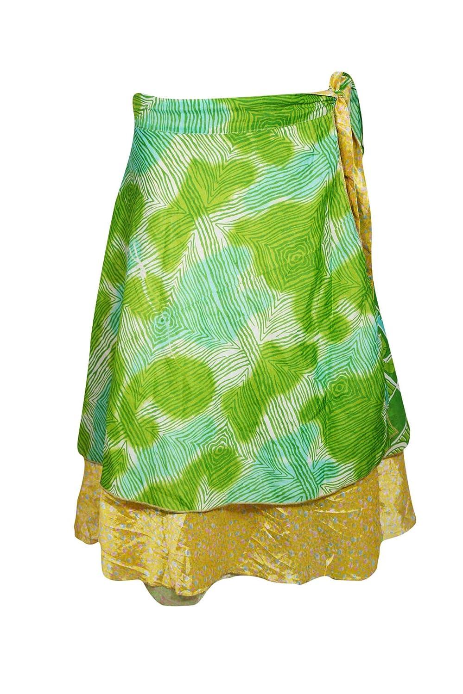 Mogul - Falda para Mujer, Reversible, Color Verde Reciclado, Talla ...