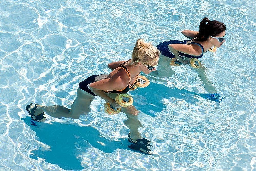 gewebt Aqua Sphere Schwimmhandschuhe