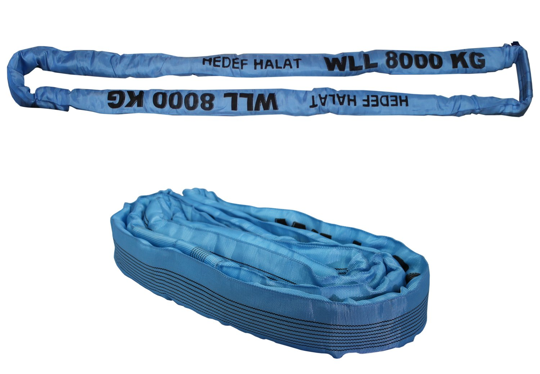 1 Tonne 0.5 Meter 1000kg Rundschlingen Bandschlinge Rundschlinge Hebeband Hebegurt Schlupp Kranschlinge