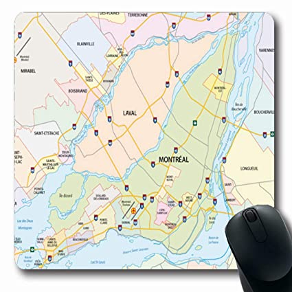 Amazon.com : Ahawoso Mousepads for Computers Laval Greater Montreal on