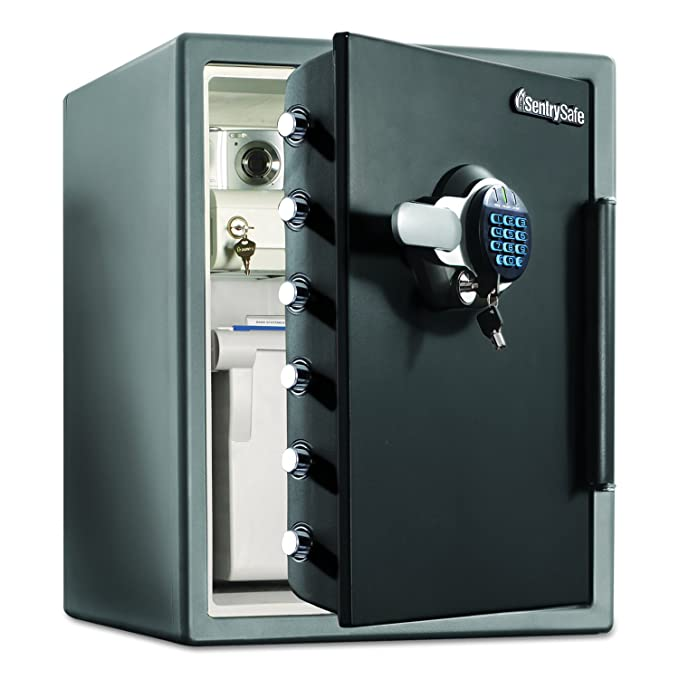 SentrySafe Sentry Safe Lock Boxes (SFW205GRC) fire chests,safes