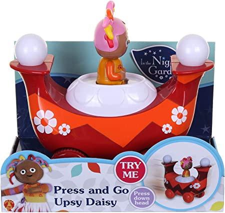Bedtime Little Library in The Night Garden Action Figure Upsy Daisy Press and Go