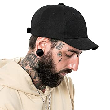 892797a75 Clape Fashion Short Brim Cotton Twill Cap Outdoor Sports Baseball Cap Anti  Sweat Sunscreen Solid Trucker/Baseball Style Hat Cap
