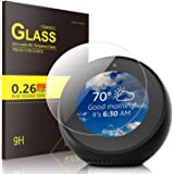 Echo Spot Screen Protector Glass, IVSO Premium Tempered-Glass Screen Protector for Amazon Echo Spot , 1 Pack