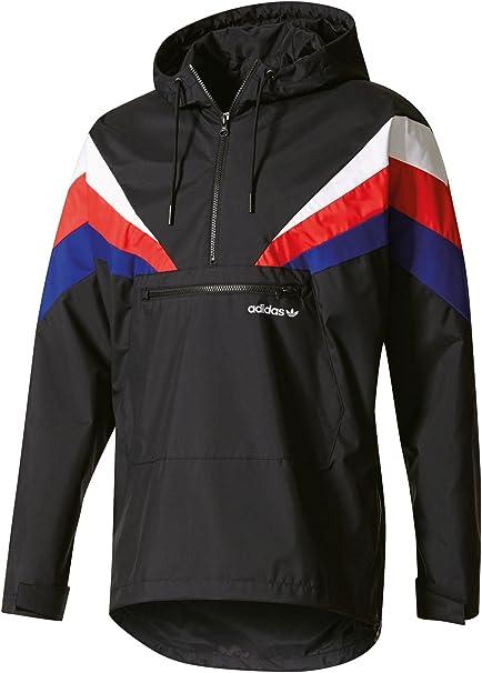 adidas Fontanka Jacket Black: : Vêtements et