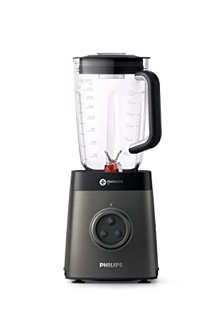 Philips Avance Collection Batidora HR3663/90 - Licuadora (2,2 L, Botones, Giratorio, 35000 RPM, LED, Batidora de vaso, Negro, Metálico): Amazon.es: Hogar