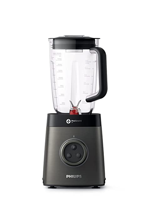 Philips Batidora HR3663/90 Vaso, 1400 W, Metal, 4 ...