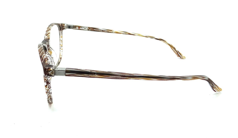 Starck Eyes Mikli Rx Eyeglasses Frames SH3045 0003 52-19-140 Striped Brown Italy