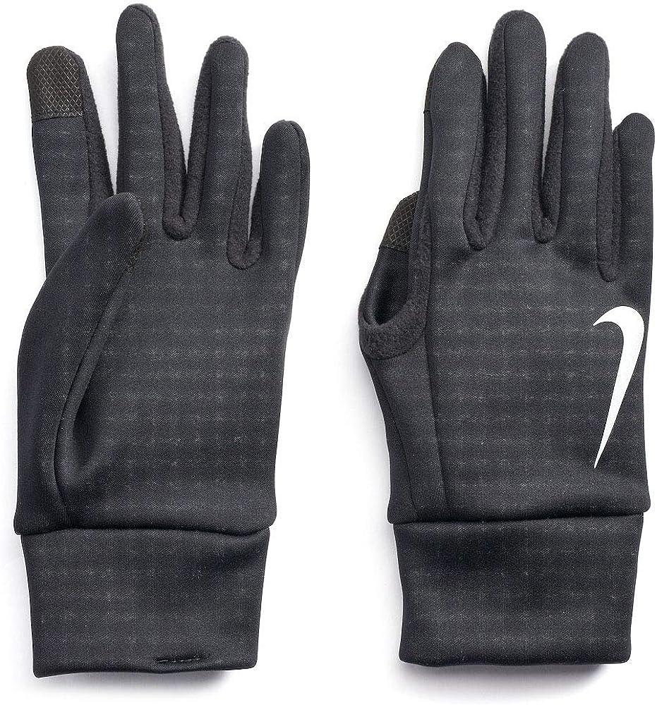 Nike Adult Thermal Running Gloves Black N1000723082-001 , Large
