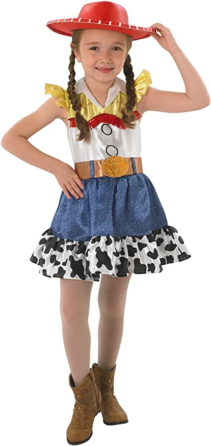 Rubiess Disfraz de Jessy de Toy Story, para niñas, con falda ...