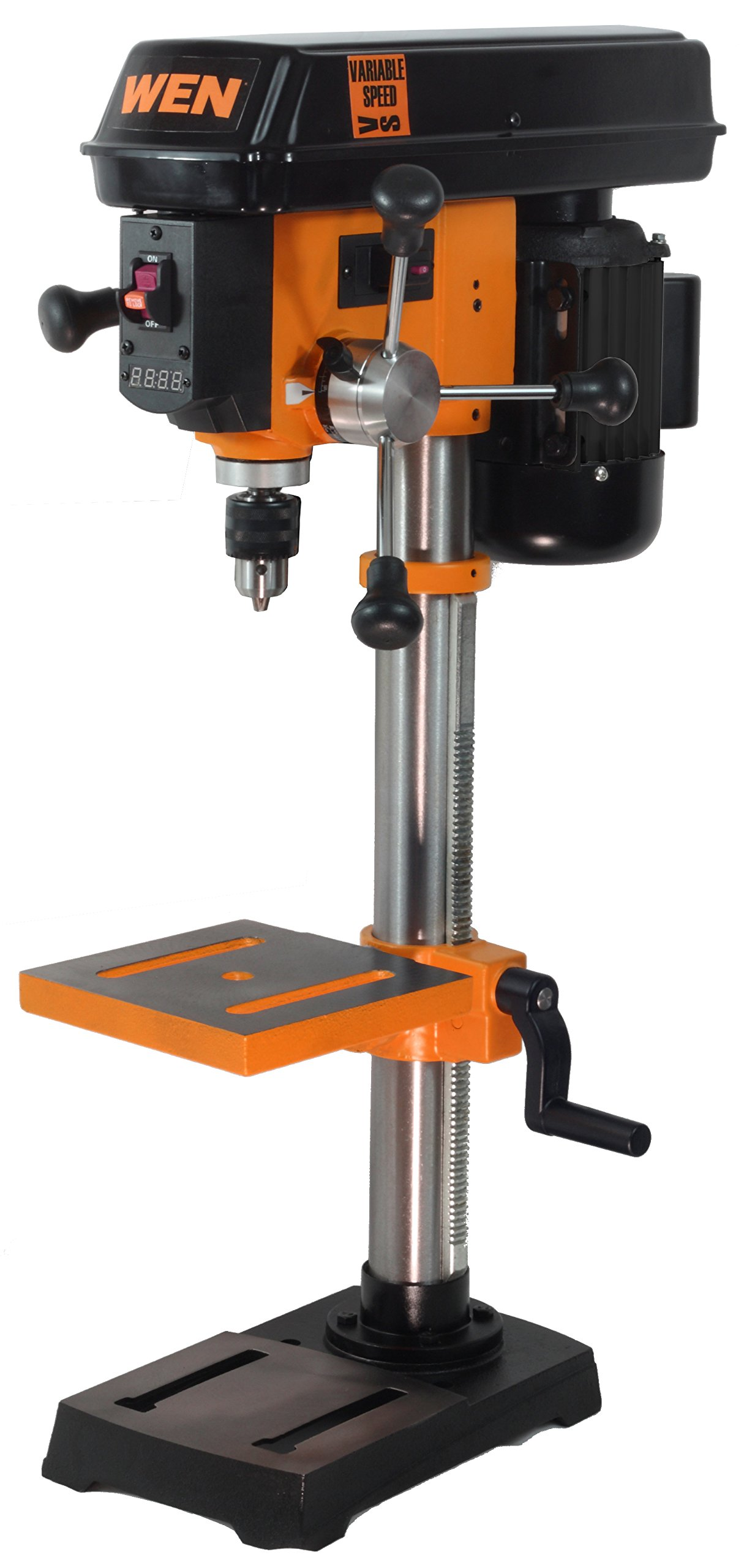 WEN 4212 10-Inch Variable Speed Drill Press by WEN