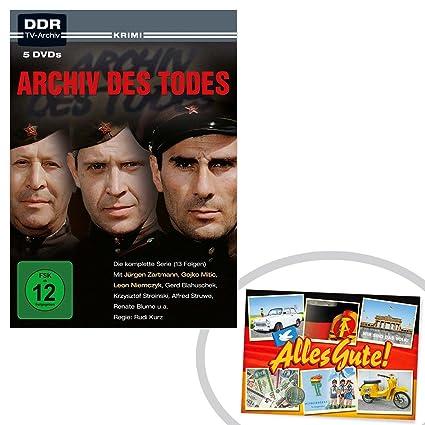 DVD y organizador de la Muerte 5 DVD + + EL regalo ostprodukte - DDR ...