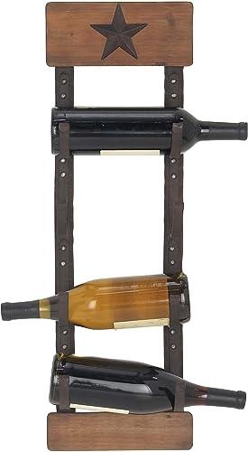 Deco 79 45860 Wall Wine Rack