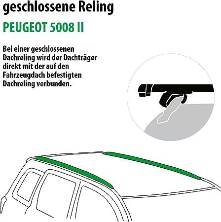 Rameder Komplettsatz Dachträger Pick Up Für Peugeot 5008 Ii 111287 37440 1 Auto