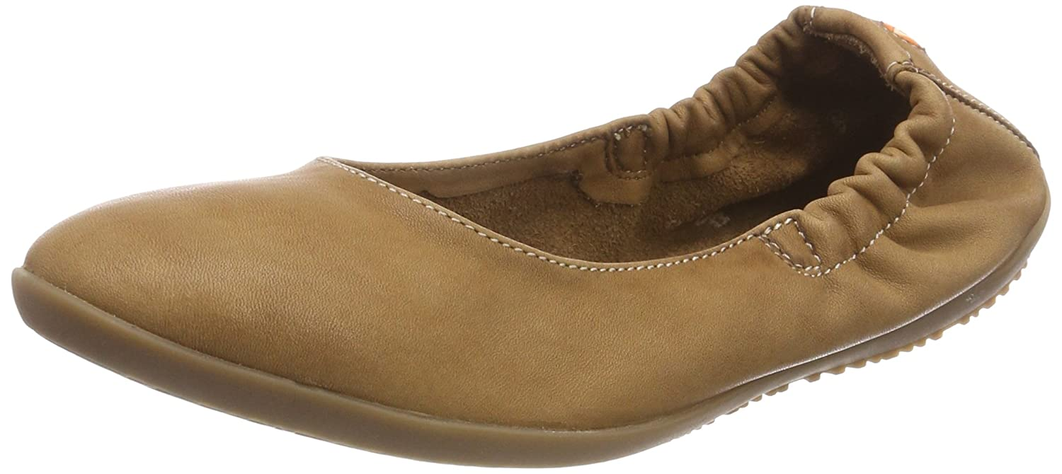 Softinos Washed, Ona380sof Washed, Ballerines Ballerines Bout fermé Femme Marron Marron 392c9b9 - shopssong.space