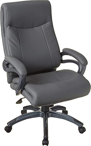 Boss Office Products Double Layer Executive Chair in Grey