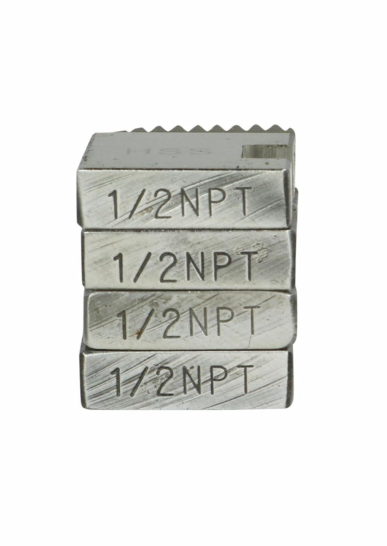 Toledo Pipe 37870 1//2 12R HSS Right Hand Pipe Dies fits RIDGID 12R 11R Die Head 37390 37480 37040 37110