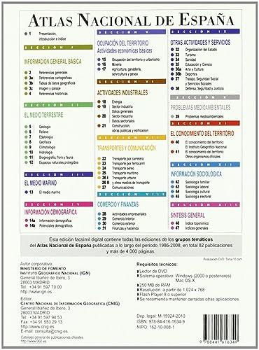 Atlas nacional de España 1986-2008 : grupos tematicos DVD: Amazon.es: Cine y Series TV