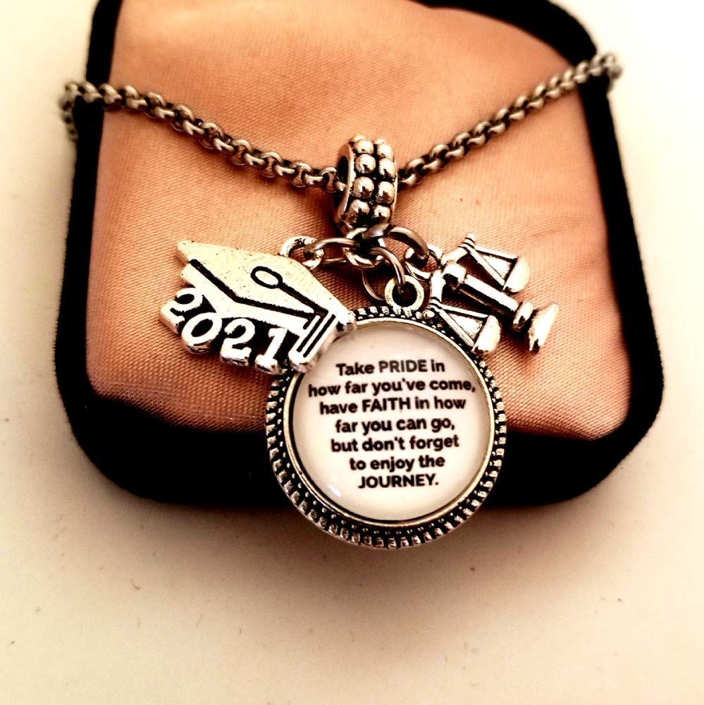 Law School Graduation Keychain Nevertheless She Persisted Future Womens Graduate Gift Justice Scales Jewelry