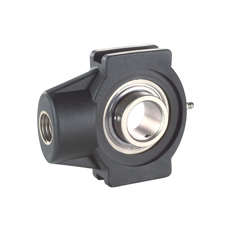 Black Polyamide Housing with 30 Bore Diameter System Plast UCT206-30ME Wide Slot Take-Up Bearing